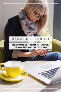 Blogger Etiquette -