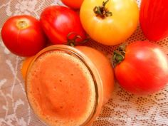 Rohe Tomatensuppe - raw tomato soup Crackers, Fruit, Vegetables, Eat, Food, Dried Tomatoes, Glutenfree, Fresh, Rezepte
