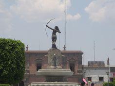 Diana Cazadora,Centro Historico de Ixmiquilpan,Hidalgo,