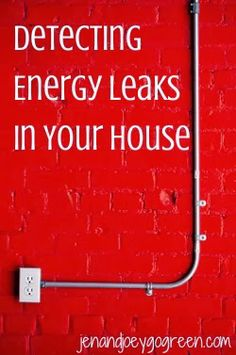 8060043627 Detecting Energy Leaks in Your House - Learn more about saving energy at  the  EarthDay
