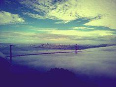 san francisco, fog.