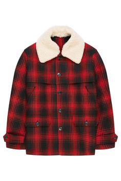 Men Lumberjack Jackets Lumberjacket With Teddy Lining