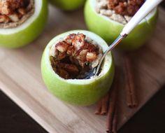 Mini Apple Pie Recipe... In an Apple!
