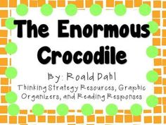 Everything you need for a novel study on The Enormous Crocodile by Roald Dahl! There are many ways that you can use these resources. You can copy as an entire packet or you can copy pages individually! This can be for a small book club, or for the whole class!