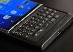 Novas imagens revelam design do BlackBerry com Android e teclado