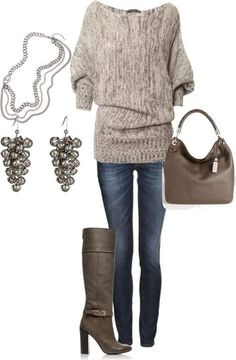 Love this whole outfit! Perfect for Fall! #fashion #boots