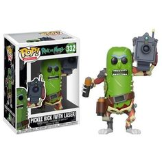 View our latest addition to our website Pickle Rick with ... here http://dbtoystore.com/products/pickle-rick-with-laser-funko-pop-animation?utm_campaign=social_autopilot&utm_source=pin&utm_medium=pin