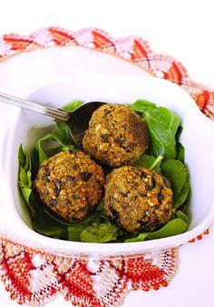 4-Ingredient+Vegan+Eggplant+Balls