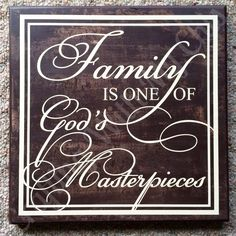 12x2.  Family is one of God's masterpieces.