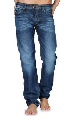 34656655 diesel straight leg jeans for men - I prefer Straight Leg jeans. Shoes With  Jeans
