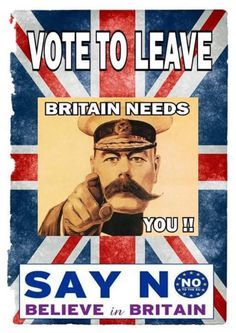 #VoteLeave and #Brexit