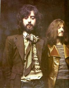 Jimmy Page & John Paul Johns. 1979. #LedZepellin #RockLegends
