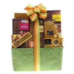 $49.99   Godiva Milk Chocolate Gift Basket