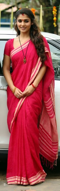 Saree plays an important role in Indian culture. Indian women in ancient times used to wear saree in their house and at festive occasions. Fashion Designer, Indian Designer Outfits, Indian Outfits, Beautiful Saree, Beautiful Indian Actress, Indian Beauty Saree, Indian Sarees, Cute Red Dresses, Bollywood Designer Sarees