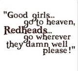 Redheads.