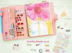 Planner Decorating For Beginners! How to decorate your planner dashboard!