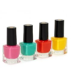 Kate Spade's New Nail Polishes! The juicy hues are in a limited-edition travel-sized set and perfect for spring!