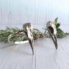 Chase and Scout Jewelry | Odin's Ravens Cuff Bracelet