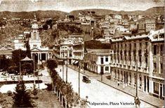 Imágenes de Chile del 1900: Valparaíso Parte 2 Casablanca, Puerto Natales, Old Pictures, Paris Skyline, Street View, Victoria, Geeks, Hobbies, Travel