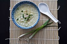 Rice Congee: Easy and Delicious Healing Food A Food, Good Food, Food And Drink, Yummy Food, Baby Food Recipes, Diet Recipes, Healthy Recipes, China, Rice Congee