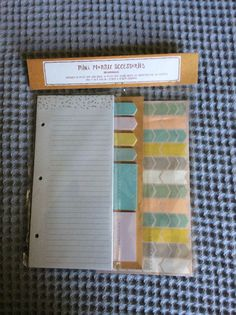 Target Dollar Spot Planner Accessories Page Flags Stickers Note Pad Brand New | eBay