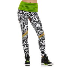 Reebok latest tights collection is full of crazy colour and prints - 11  dance 86d78baadde6a