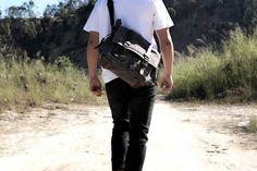 Cool Messenger Bag (3) Cool Messenger Bags, Designer Messenger Bags, Canvas Messenger Bag, Rucksack Bag, Sling Backpack, Backpacks, Shoulder Bag, Bradley Mountain, Leather