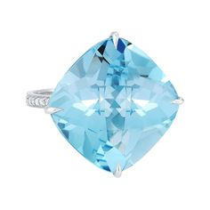 Paolo Costagli 'By the Pool' Blue Topaz Cocktail Ring