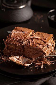Nina's Kitchen: Pastel de galletas y chocolate Choco Chocolate, Delicious Chocolate, Chocolate Desserts, Delicious Desserts, Yummy Food, Sweet Recipes, Cake Recipes, Dessert Recipes, Twix Cake