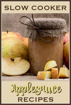 Homemade applesauce is easy to make, and it's even easier with a slow cooker. We're sure one of these slow cooker applesauce recipes will suit your tastes.