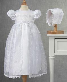 Lauren Madison Baby Girls Dress, Christening Gown