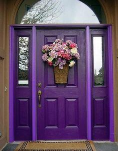 Mexican color door