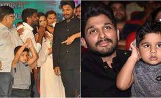Allu Arjun's son Ayaan was the star of Duvvada Jaggannadham music launch. See pics, video