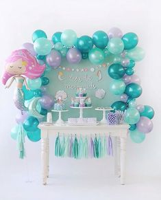 anniversaire sirene | Anniversaire La Petite Sirène : jolies idées ! | Blog bébé ...