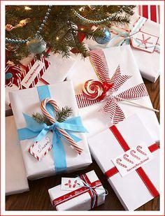 упаковке подарков