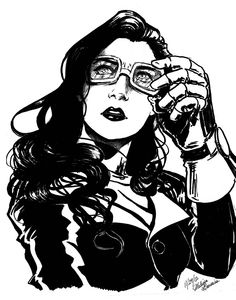 Asami in Sharpie by Pencil-Bender.deviantart.com on @deviantART