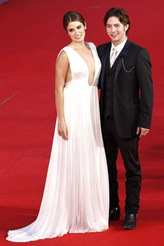 Nikki Reed and Jackson Rathbone at Breaking Dawn premiere in Rome