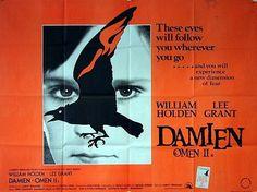 Damien Omen II quad movie poster