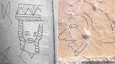 Graffiti from Swannington and Marsham churches in Norfolk