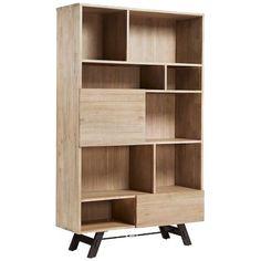 Wie zegt dat een boekenkast alleen voor boeken is...