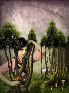 """""""In the park"""" by Catrin Welz-Stein 