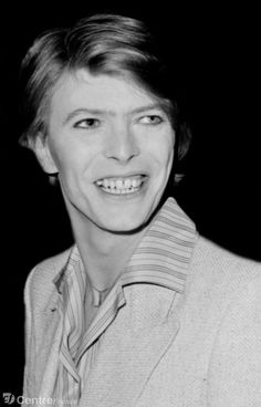 David Bowie and Sydne Rome at the French premiere of The Man Who Fell to Earth at the Gaumont Theatre in the Champs Elysees, Paris, July 1977 ☇