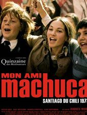 Machuca Movie of two boys in Chile observing a political coup d'etat. Part of our travel inspirations for Chile: Movies, TV Series, Documentaries, Books & Podcasts Cannes, Latina, Chili, Film Theory, Film Watch, Movie Covers, Dvd, Popular Books, Great Films