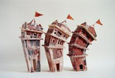 Crooked House By Lisaleesculpture Com My Ceramic Sculptures