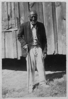 George Dillard, Age 85, Alabama. Portraits of Ex-Slaves 1930's