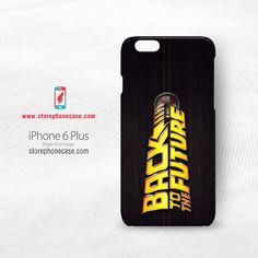 Back To The Future Time Travel iPhone 6 6s Plus Cover Case