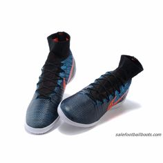 premium selection 73850 53d51 Nike Elastico Superfly IC Blue Orange Black  86.99. Buy Football Boots