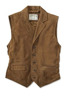 Just found this Suede+Lapel+Waistcoat+-+CFO+Sueded+Lapel+Waistcoat+--+Orvis+UK on Orvis.com!