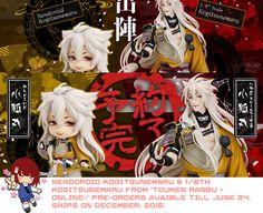 Touken Ranbu ONLINE Kogitsunemaru Mayhem - A Rinkya Blog