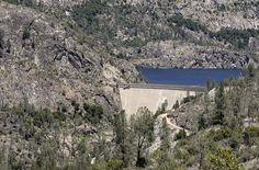 Hetch Hetchy Reservoir--in Yosemite Park.